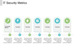 IT Security Metrics Ppt Powerpoint Presentation Ideas Layout Ideas Cpb