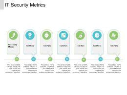 IT Security Metrics Ppt Powerpoint Presentation Ideas Layout Ideas Cpb