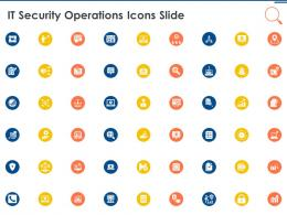 IT Security Operations Icons Slide Ppt Powerpoint Presentation Professional Display