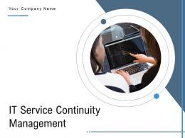 IT Service Continuity Management Powerpoint Presentation Slides