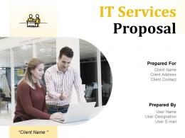IT Services Proposal Powerpoint Presentation Slides