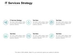 IT Services Strategy Ppt Powerpoint Presentation Infographics Styles Cpb