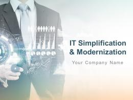 It Simplification And Modernization Powerpoint Presentation Slides