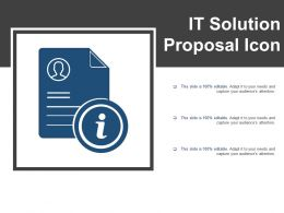 It Solution Proposal Icon