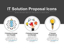 It Solution Proposal Slide Team