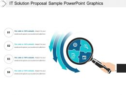 It Solution Proposal Sample Powerpoint Graphics