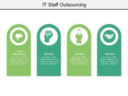 IT Staff Outsourcing Ppt Powerpoint Presentation Professional Icon Cpb