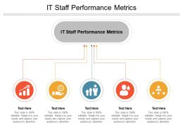 IT Staff Performance Metrics Ppt Powerpoint Presentation Gallery Shapes Cpb