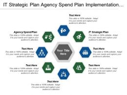 It Strategic Plan Agency Spend Plan Implementation Planning