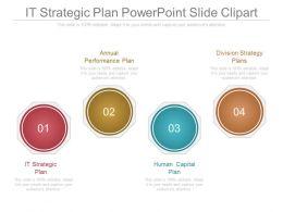 It Strategic Plan Powerpoint Slide Clipart