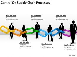 It Strategy Consulting Control Supply Chain Processes Powerpoint Templates PPT Backgrounds For Slides