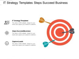 It Strategy Templates Steps Succeed Business Capture Leads Cpb