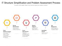 IT Structure Simplification And Problem Assessment Process