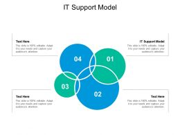 IT Support Model Ppt Powerpoint Presentation Professional Guide Cpb