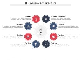 IT System Architecture Ppt Powerpoint Presentation Outline Graphics Template Cpb