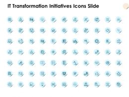 IT Transformation Initiatives Icons Slide Growth D109 Ppt Powerpoint Presentation Ideas Tips
