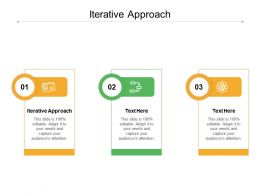 Iterative Approach Ppt Powerpoint Presentation Pictures Aids Cpb