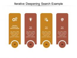 Iterative Deepening Search Example Ppt Powerpoint Presentation File Gallery Cpb