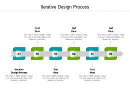 Iterative Design Process Ppt Powerpoint Presentation Infographics Portfolio Cpb