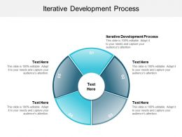 Iterative Development Process Ppt Powerpoint Presentation Visual Aids Backgrounds Cpb
