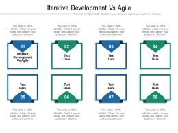 Iterative Development Vs Agile Ppt Powerpoint Presentation Gallery Graphics Tutorials Cpb