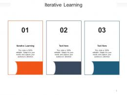 Iterative Learning Ppt Powerpoint Presentation Portfolio Graphics Cpb