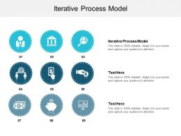 Iterative Process Model Ppt Powerpoint Presentation Show Icon Cpb