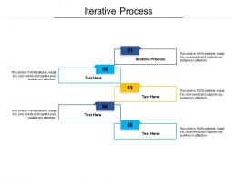 Iterative Process Ppt Powerpoint Presentation Infographics Example Introduction Cpb
