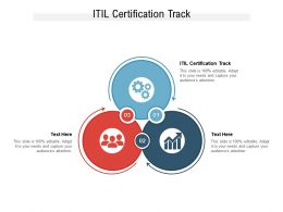 ITIL Certification Track Ppt Powerpoint Presentation Outline Template Cpb