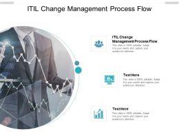 ITIL Change Management Process Flow Ppt Powerpoint Presentation Slides Template Cpb