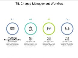 ITIL Change Management Workflow Ppt Powerpoint Presentation Outline Layout Ideas Cpb