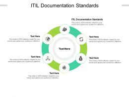 ITIL Documentation Standards Ppt Powerpoint Presentation Icon Rules Cpb