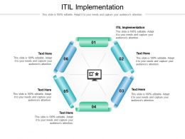 ITIL Implementation Ppt Powerpoint Presentation Show Mockup Cpb