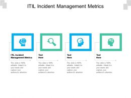 ITIL Incident Management Metrics Ppt Powerpoint Presentation Gallery Graphics Cpb