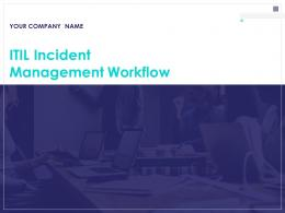 Itil Incident Management Workflow Powerpoint Presentation Slides