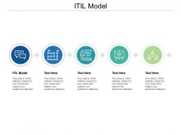 ITIL Model Ppt Powerpoint Presentation Ideas Graphics Example Cpb