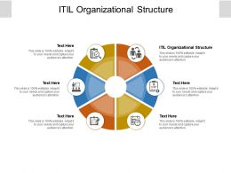 ITIL Organizational Structure Ppt Powerpoint Presentation Diagram Ppt Cpb