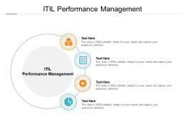 ITIL Performance Management Ppt Powerpoint Presentation Portfolio Slide Portrait Cpb