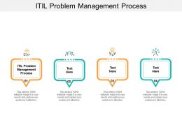 ITIL Problem Management Process Ppt Powerpoint Presentation Styles Graphics Example Cpb