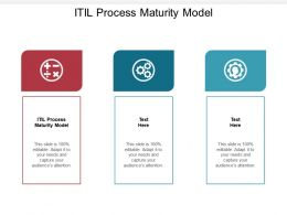 ITIL Process Maturity Model Ppt Powerpoint Presentation Styles Elements Cpb