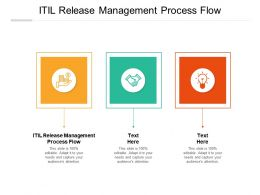 ITIL Release Management Process Flow Ppt Powerpoint Presentation Outline Picture Cpb