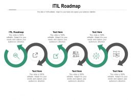ITIL Roadmap Ppt Powerpoint Presentation Inspiration Layout Ideas Cpb