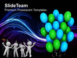 Its Party Time Celebration PowerPoint Templates PPT Themes And Graphics 0513