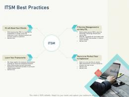 Itsm Best Practices Itil Service Level Management Process And Implementation Ppt Powerpoint Presentation Download