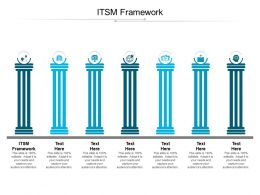ITSM Framework Ppt Powerpoint Presentation Layouts Graphics Cpb