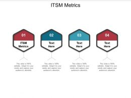 ITSM Metrics Ppt Powerpoint Presentation Guide Cpb