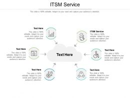 ITSM Service Ppt Powerpoint Presentation Styles Picture Cpb