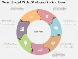 iw Seven Staged Circle Of Infographics And Icons Flat Powerpoint Design