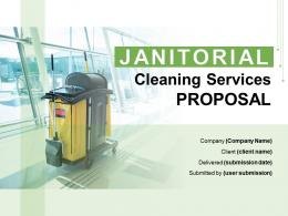 Janitorial Cleaning Services Proposal Powerpoint Presentation Slides