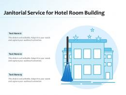 Janitorial Service For Hotel Room Building
